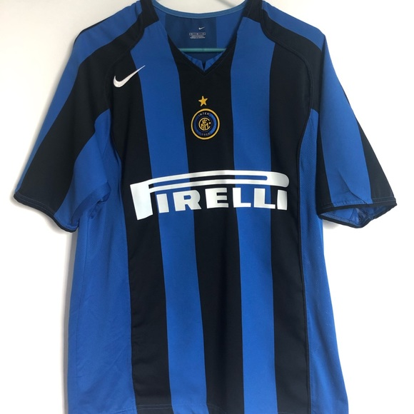pretty nice 81d0f 4b829 Men's inter Milan Italy authentic Nike Jersey
